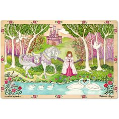 Princess Reflections 96 PC Wooden Jigsaw Puzzle