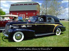 1940 Cadillac Series 75 Town Car by sjb4photos, via Flickr