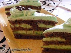 Hungarian Cake, Hungarian Recipes, Hungarian Food, Christmas Dishes, Sweet And Salty, Vanilla Cake, Sweet Recipes, Oreo, Food And Drink