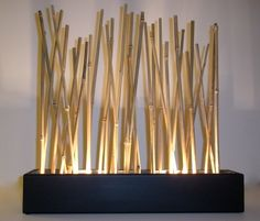 Bamboo Mood Lamp Modern Japanese Style Tabletop Led Accent Etsy - This Is A Custom Eco Friendly Modern Japanese Style Bamboo Table Lamp That Adds A Gorgeous Relaxing Glow To Any Room This Tabletop Lamp Is Illuminated With Warm Dimming Led Lighting That Is Tiki Bars, Mood Lamps, Bamboo Table, Deco Nature, Bamboo Furniture, Cheap Furniture, Furniture Nyc, Furniture Online, Plywood Furniture