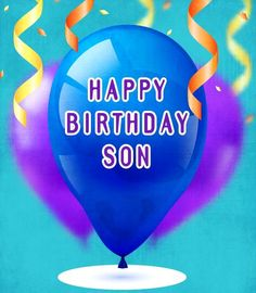 Happy Birthday - Son