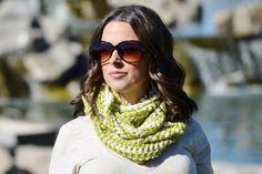Crochet cowl neckwarmer infiinity scarf soft by ChildCrochet, $28.00