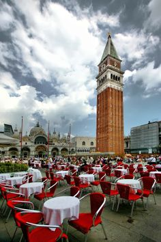 St. Mark's Square, Venice, Italy.