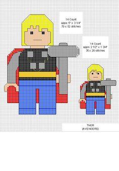 Thor Cross Stitch