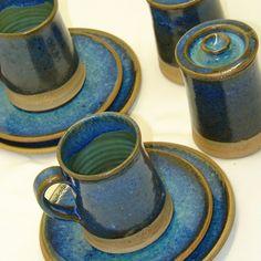 Juegos de café en cerámica gres