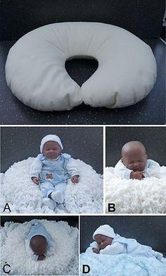 Newborn/Infant Photography Posing Pillow www.enchantingprops.co.uk