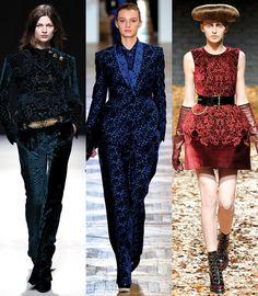 Motifs tapisserie http://www.vogue.fr/mode/en-vogue/diaporama/les-20-tendances-mode-de-l-automne-hiver-2012-2013/7452/image/510113#motifs-tapisserie
