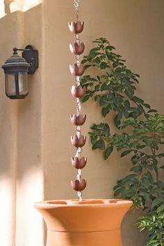 Lotus Rain Chains