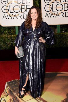 Pin for Later: Verpasst nicht die besten Looks auf dem roten Teppich der Golden Globe Awards Melissa McCarthy in Kimberly McDonald