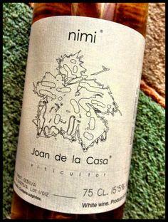 El Alma del Vino.: Celler Joan de la Casa Nimi Moscatell 2012.
