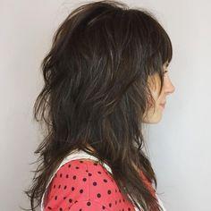 60 Most Universal Modern Shag Haircut Solutions Long Wi. 60 Most Universal Modern Shag Haircut . Medium Textured Hair, Layered Thick Hair, Medium Cut, Medium Layered, Modern Shag Haircut, Long Shag Haircut, Medium Shag Haircuts, Shag Hairstyles, Woman Hairstyles