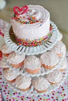Cake by Feathered Nest Photo {Hana Lynch}, via Flickr: today is my birthday!