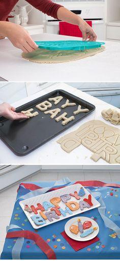 Happy Birthday Cookie Cutter Set