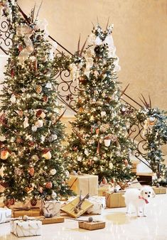 The  Most Beautiful Christmas Trees @MyDomaine