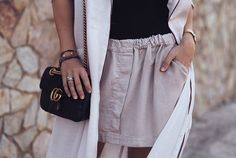Gucci Fashion, Hijab Fashion, Competition Giveaway, Black Chevron, Bff Goals, Chain Shoulder Bag, Canadian Contests, High Waisted Skirt, Cute Outfits