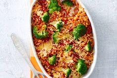 Kijk wat een lekker recept ik heb gevonden op Allerhande! Macaroni-broccolischotel uit de oven