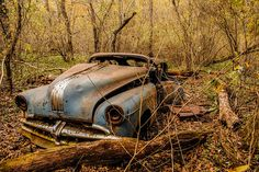 Literally looks like the car in the woods at camp