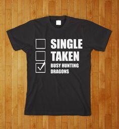 Skyrim Video Game Funny Nerd Gamer Shirt S M L XL by KustomTees