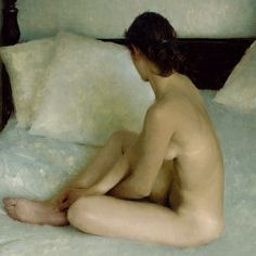Limited palette painting by Jeremy Lipking (cad red, cad yellow, viridian + accents of transparent oxide red)
