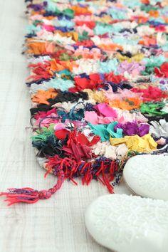 tapis maroc boucherouite