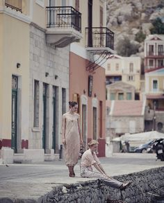 marie claire turkey july 2010, shot on the greek island of symi. models: patrisha petrova and isabella strandell, phoographer: cihan alpgiray, stylist: duygu hamdioglu