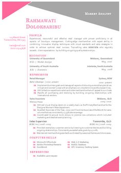 modern microsoft word resume template rahmawat by inkpower 1200