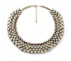 Crystal Choker Collar