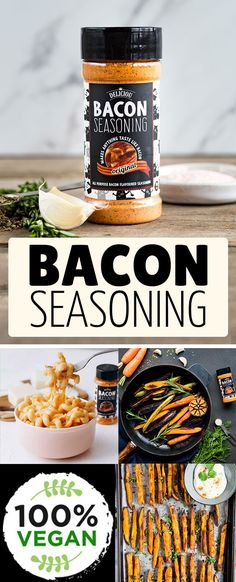 Deliciou's Bacon Seasoning makes ANYTHING taste like bacon and is Vegan! Deliciou's Bacon Seasoning makes ANYTHING taste like bacon and is Vegan! Homemade Spices, Homemade Seasonings, Bacon Seasoning, Whole Food Recipes, Cooking Recipes, Cooking Fails, Vegan Dishes, Vegan Food, Food Dishes