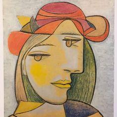 3e2f37a59 #Picasso via @poppydelevingne #jasoncampbellstudio Cubist Portraits, Picasso  Portraits, Picasso Paintings,