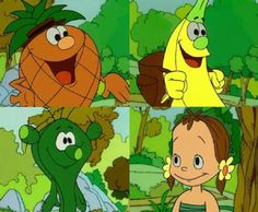 Imagenes de dibujos animados: FRUITIS