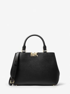 Florence Medium Saffiano Leather Satchel