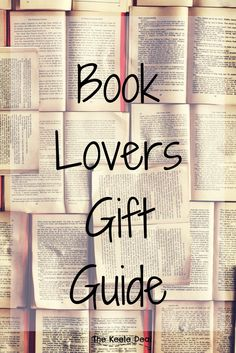 Book Lovers Gift Guide. Looking for the perfect gift for the bookworm in your life? These gifts are perfect for anyone who loves books! thekeeledeal.com