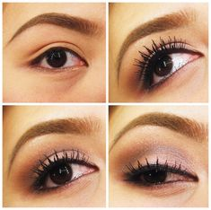Romantic Eye Makeup Tutorials For Girls Pictures