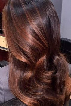 Deep Cooper Ombre for Brown Hair 1