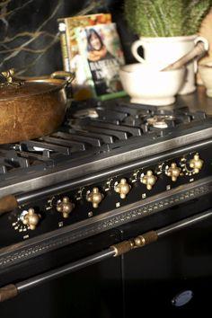 Vintage-style Lacanche stove; Melanie Pounds
