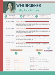 20 Awesome Resume Templates 2016 Get Employed Today Resume 2016