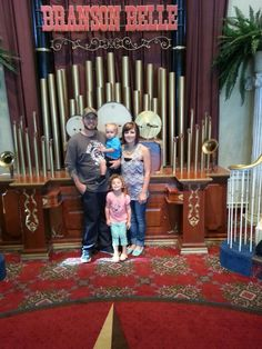 Me and my awesome family on the branson showboat