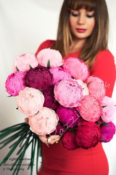 Paper flowers,wedding flowers,wedding peonies,paper flower,paper flowers peony,bridal flower,peonies bouquet, by Mazziflowers on Etsy https://www.etsy.com/listing/279532188/paper-flowerswedding-flowerswedding