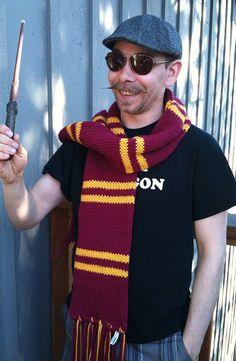Harry Potter scarf pattern.