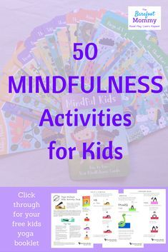 Mindfulness for kids: our favorite resource Yoga kids Teaching Mindfulness, What Is Mindfulness, Mindfulness Exercises, Mindfulness For Kids, Mindfulness Activities, Mindfulness Meditation, Mindfulness Practice, Meditation Music, Mindfulness Benefits
