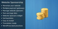 Buy Website Sponsorship by halfdata on CodeCanyon. Do you have WordPress website and people really like it? Give them a chance to become sponsors of your website with W.