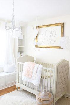 Project Nursery - White and Gold Dreamland Nursery