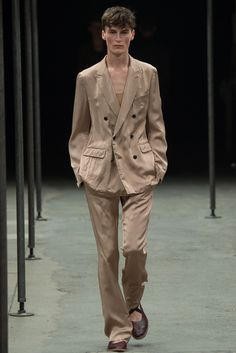 Dries Van Noten Spring 2015 Menswear Fashion Show