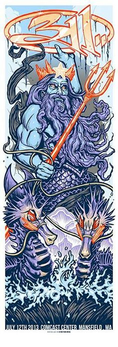 I'm getting this for my 311 tattoo. On my arm. Yes.