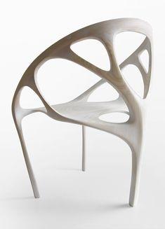 Brazil (2009)  //  Plywood, CNC machined  //  0.65m x 0.90m x 0.70m  //  Private comission  // Daniel Widrig