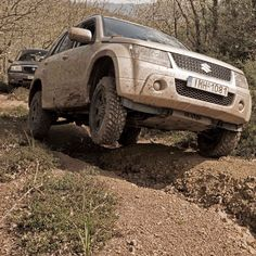 Grand vitara off road madness