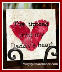I've Tiptoed Into My Daddy's Heart-child, father's day, heart, feet