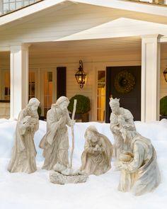 Outdoor Nativity Set | Balsam Hill