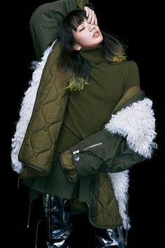 fashion armies — Komatsu Nana for Dazed Korea, August Ph:. Komatsu Nana, Girl Poses, Japanese Fashion, Asian Woman, Canada Goose Jackets, Fashion Brands, Cashmere, Korea, Stylists