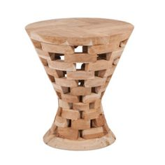 Stolička z teakového dreva Mikkel